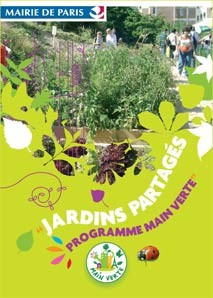 Paris – Jardins Partagés, Main Verte Program